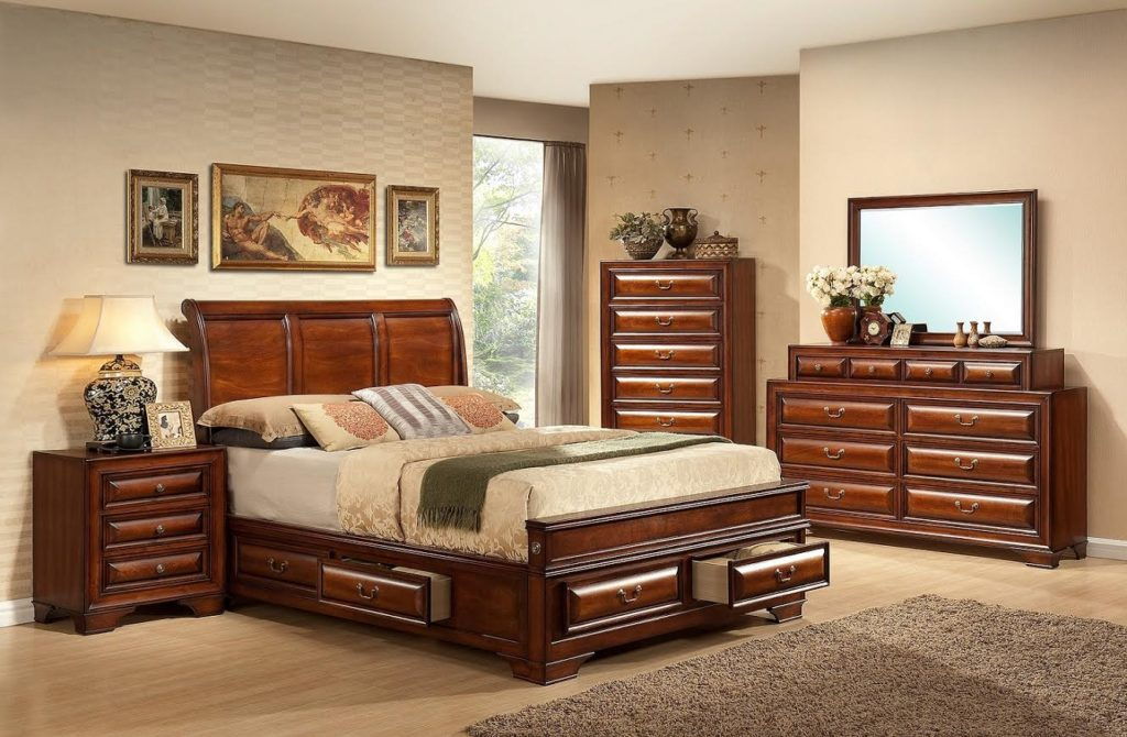 Lincoln Collection - Wood Headboard