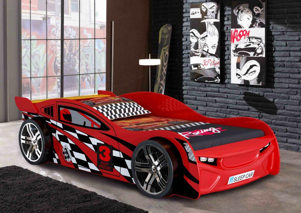 Premium Race Car Bed Red Bourne International