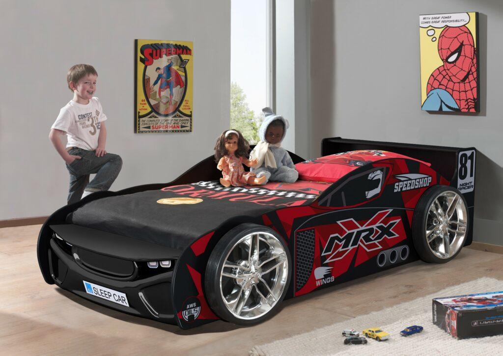 Premium Race Car Bed Black Bourne International